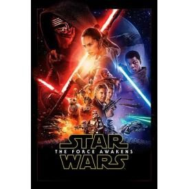 Poster STAR WARS - The Force Awakens One Sheet