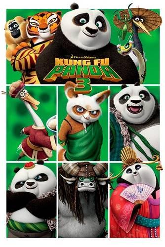 Image de Poster KUNG FU PANDA - III Characters
