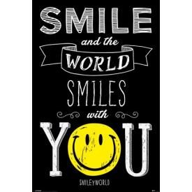 Poster SMILEY - The World Smiles With You