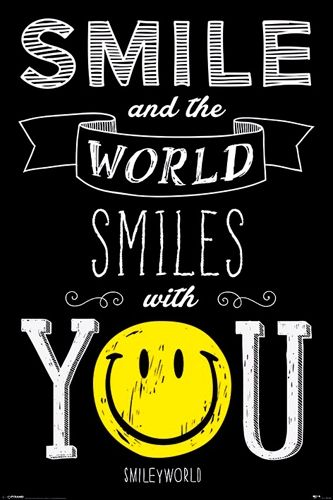 Image de Poster SMILEY - The World Smiles With You