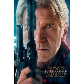 Poster STAR WARS - Han Solo The Force Awakens