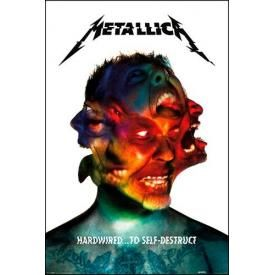 Poster METALLICA - Hardwired To Self Destruct