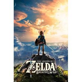Poster NINTENDO - Zelda Sunset