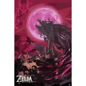 Poster ZELDA - Moon