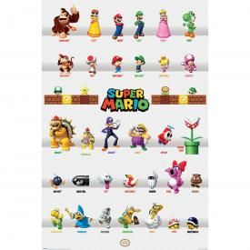 Poster MARIO - Mario Kart Collection