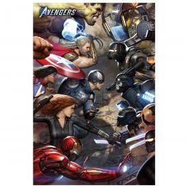 Poster THE AVENGERS - Gamer FanFiction