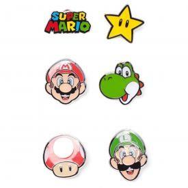 Lot de 6 Pins NINTENDO - Super Mario