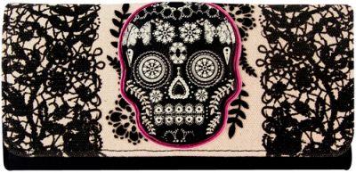 portefeuille loungefly lace skulls portefeuilles. Black Bedroom Furniture Sets. Home Design Ideas