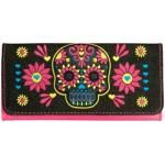 Portefeuille LOUNGEFLY - Neon Skull