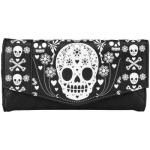 Portefeuille LOUNGEFLY - White Skulls