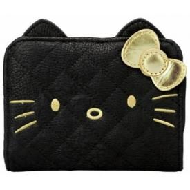 Portefeuille HELLO KITTY - Golden Face