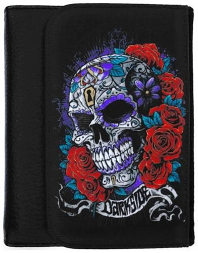 00fb767d906 Portefeuille DARKSIDE - Mexican Skull - Rock A Gogo