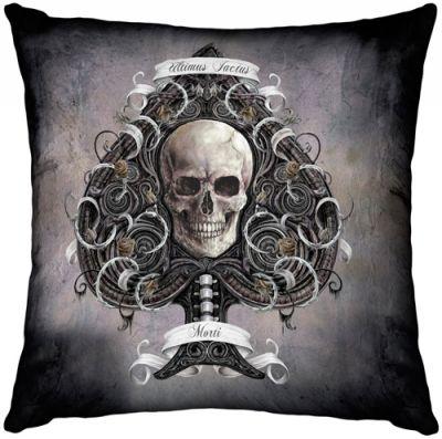 coussin dark d co ace of spades coussins rock a gogo. Black Bedroom Furniture Sets. Home Design Ideas