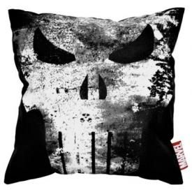 Housse de Coussin THE PUNISHER - Vintage Skull Logo
