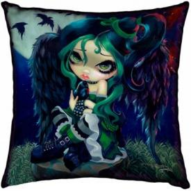 Coussin JASMINE BECKET GRIFFITH - Perched & Sat & Nothing More