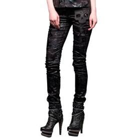 Pantalon Femme QUEEN OF DARKNESS - Shiny Trousers
