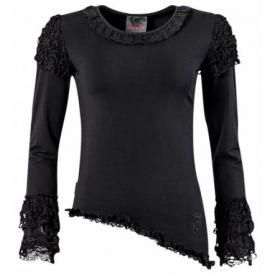 T-Shirt Manches Longues Nana QUEEN OF DARKNESS - Lace