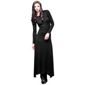 Robe noir longue gothique