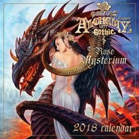 Calendrier 2018 ALCHEMY - The Rose Mysterium