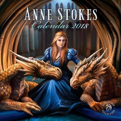 Skyrim Calendrier.Calendrier 2018 Anne Stokes Bringing Fantasy To Life