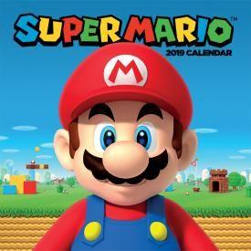 Calendrier 2019 NINTENDO - Super Mario