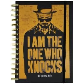 Cahier A5 BREAKING BAD - The One Who Knocks
