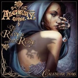Calendrier 2016 ALCHEMY GOTHIC - The Raven & The Rose