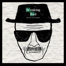 Calendrier 2016 BREAKING BAD - Heisenberg