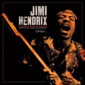 Calendrier 2016 JIMI HENDRIX - Pictures