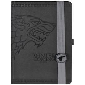 Cahier A5 GAME OF THRONES - Stark Deluxe