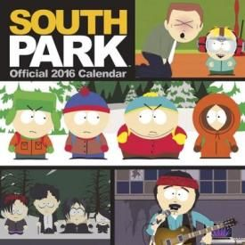 Calendrier 2016 SOUTH PARK - Official Calendar