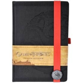 Cahier A5 GAME OF THRONES - Targaryen Deluxe