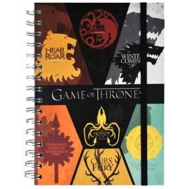 Cahier A5 GAME OF THRONES - Sigils