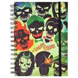 Cahier A5 SUICIDE SQUAD - Skulls