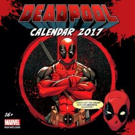 Calendrier 2017 DEADPOOL - Official Calendar