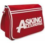 Sac Messenger ASKING ALEXANDRIA - Red Logo