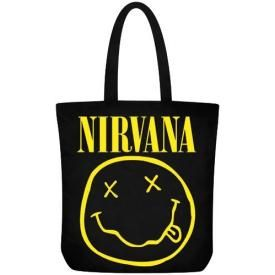 Sac Cabas NIRVANA - Smiley Logo