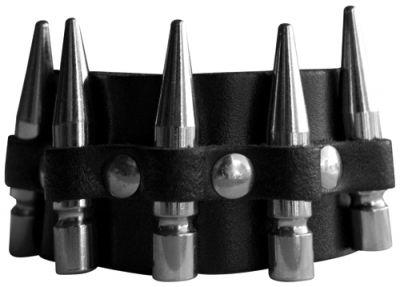 Image de Bracelet CUIR - Style Bullets