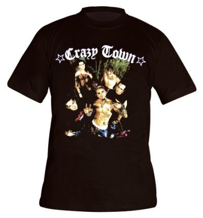 Crazy town mecs t shirts manches courtes t shirt crazy town