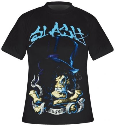 Image de T-Shirt Mec SLASH - Smoking Skull