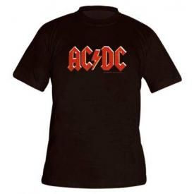 T-Shirt Mec AC/DC - Red Logo