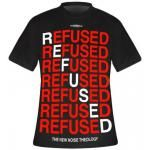 T-Shirt Mec REFUSED - New Noise