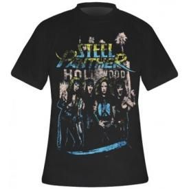T-Shirt Mec STEEL PANTHER - Hollywood