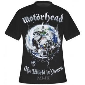 T-Shirt Mec MOTORHEAD - The World Is Yours