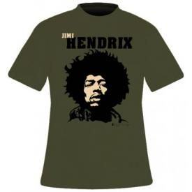 T-Shirt JIMI HENDRIX - Close Up
