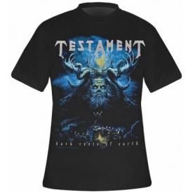T-Shirt Mec TESTAMENT - Dark Roots Of Earth