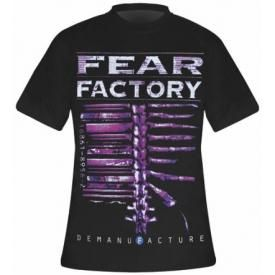 T-Shirt Mec FEAR FACTORY - Demanufacture