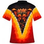 T-Shirt Mec All Over AC/DC - Evil Wings