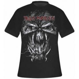 T-Shirt Mec IRON MAIDEN - Final Frontier Vintage