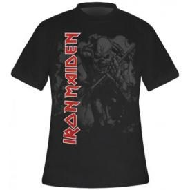 T-Shirt Mec IRON MAIDEN - Hi Contrast Trooper